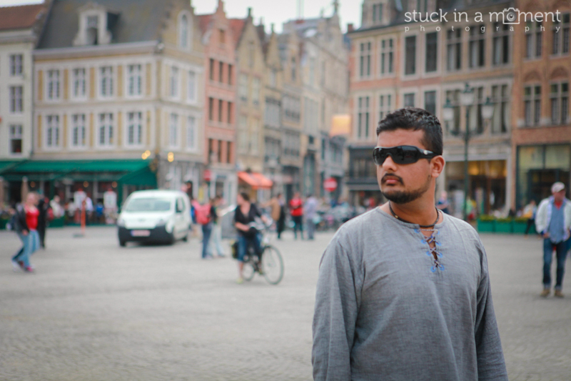When In Bruges.. you pose