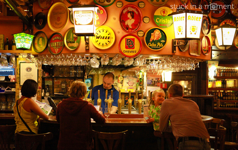 """Any country that has a bar housing a menu that reads """"Beer Selection: Pages 23-112"""" has to be a winner! 2500 Belgian beers under the one roof! Look even the kids are delirious here! - Delirium Cafe"""