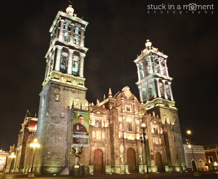 The cathedral at night