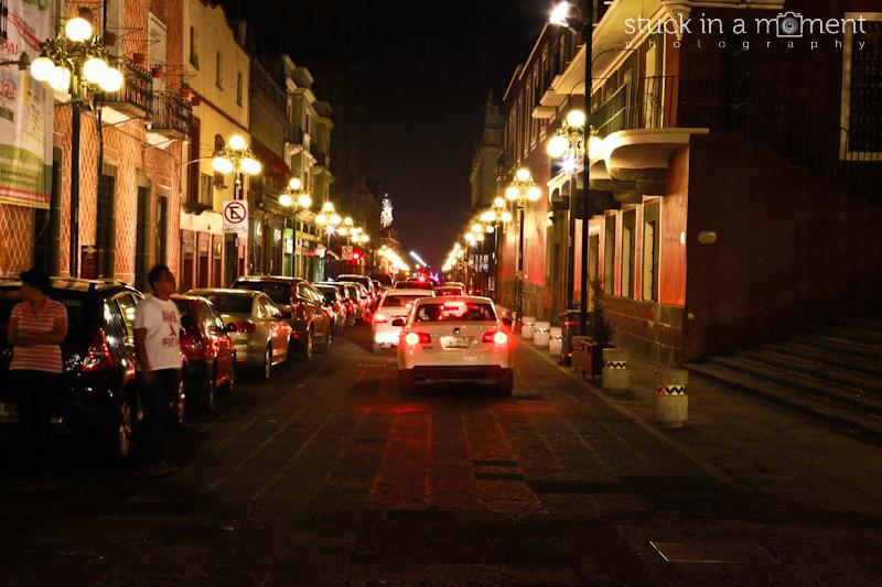 Puebla by night