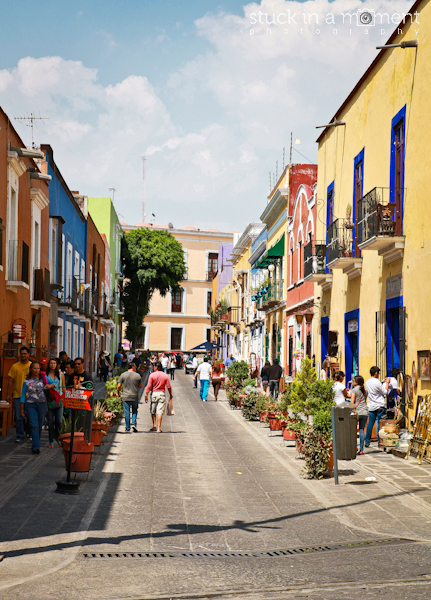 Another gorgeous little street in Puebla