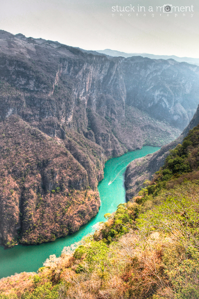 View atop Canyon Sumidero