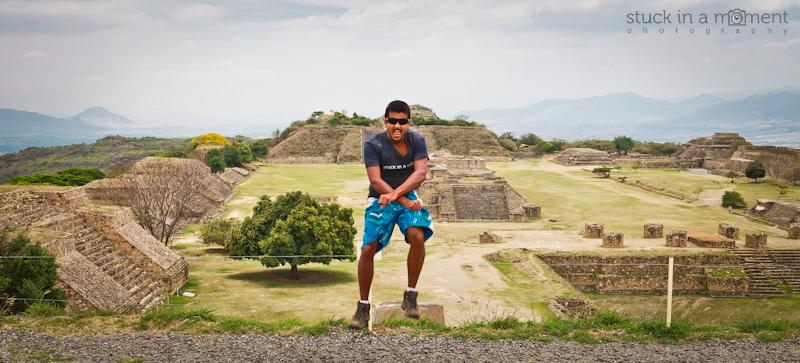 What do you do when you climb atop a mountain and discover Mayan ruins - GANGNAM STYLE!