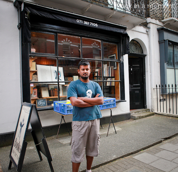 First place that I HAD to see in England - Black Books bookshop. Pulled off my best Bernard impression. What was hilarious was the bloke selling books in the store was a replica of bernard right from his appearance to his non willingness to sell! - Black Books