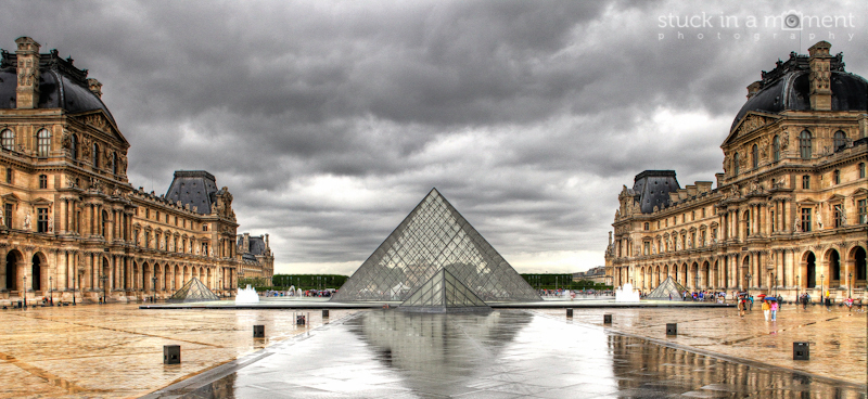 The Louvre angle 1