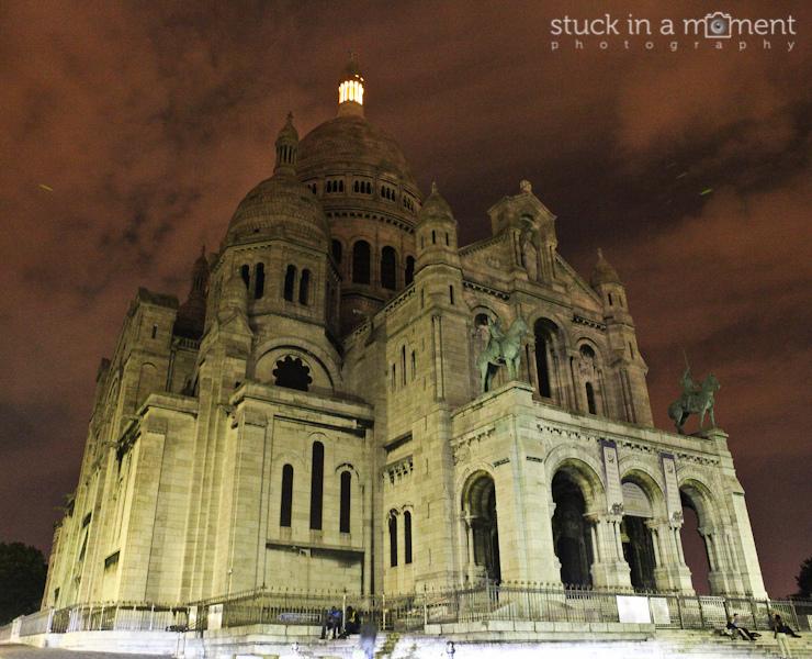 The majestic Sacre Couer, Paris