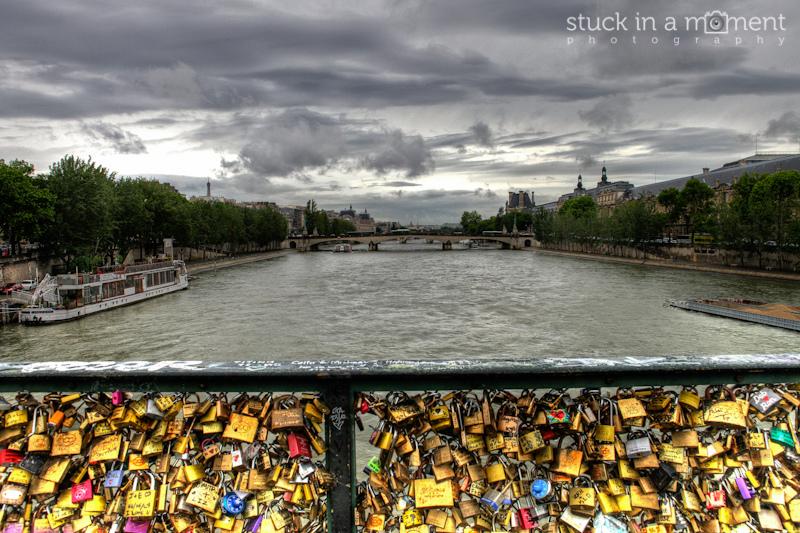 Lover's bridge, Paris