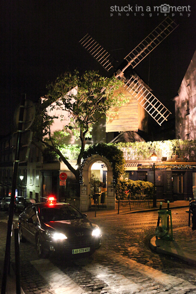 Windmill (not the Moulin Rouge one) at Montmarte