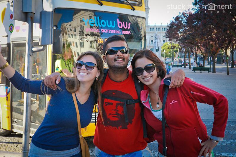 With Karina at Porto