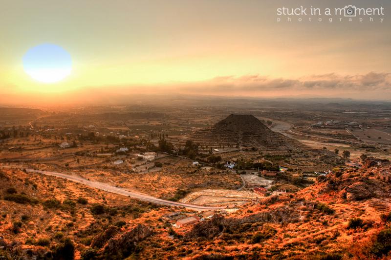 Mojacar at sunset
