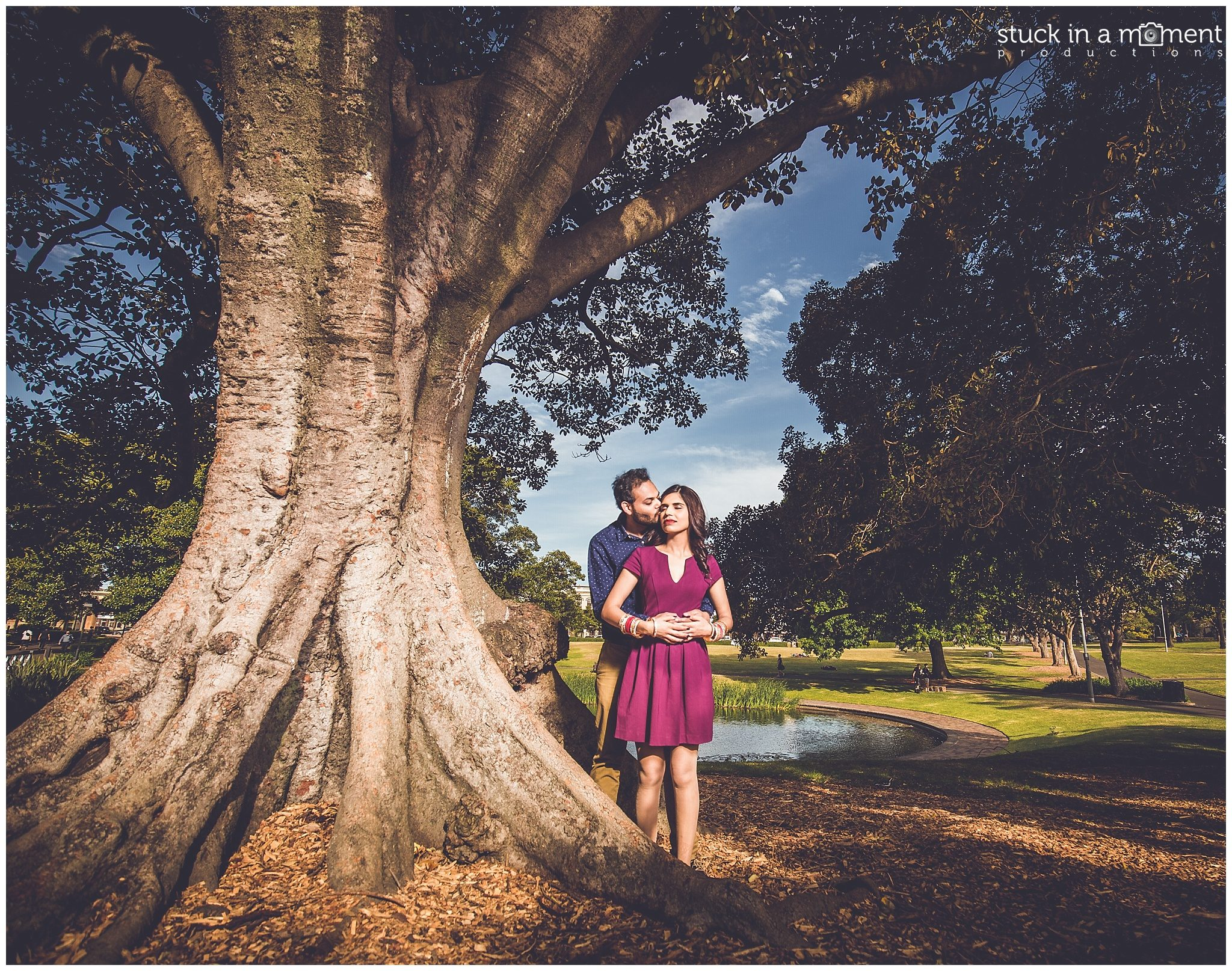 Sydney Engagement Photos Sydney Uni | Rebecca+Milan