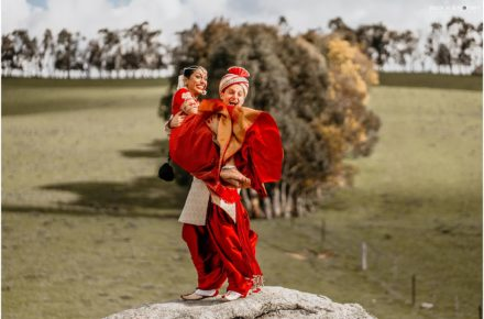 Waldara Farm Indian Italian Wedding Photos