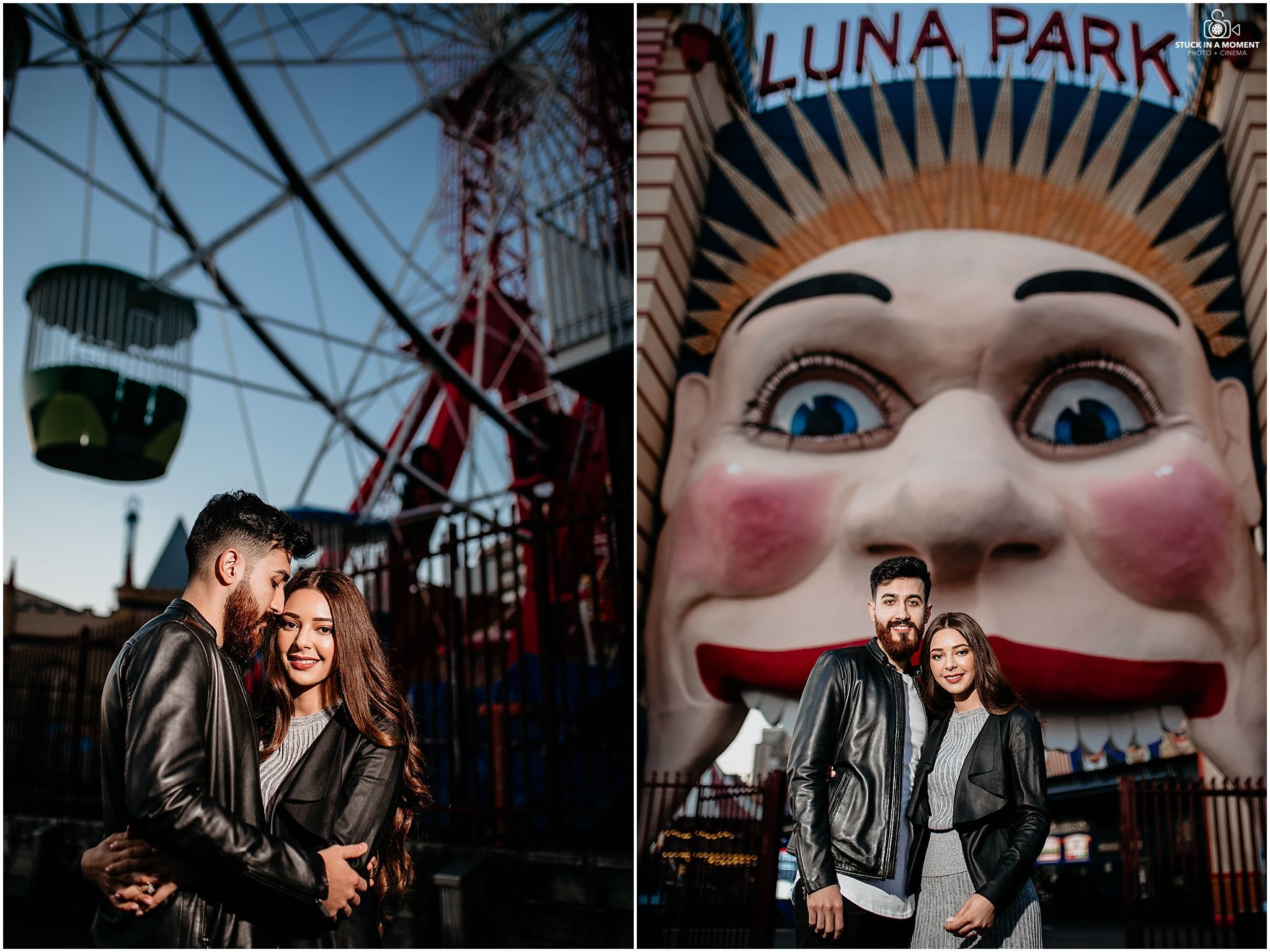 luna park wedding photographer sydney