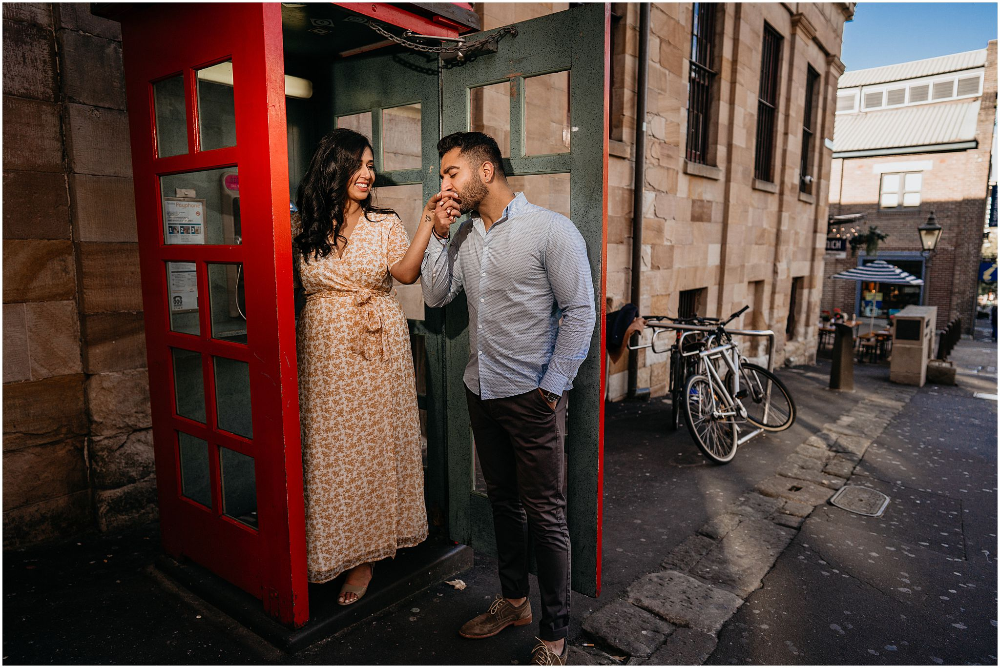 pre wedding shoot Sydney the rocks