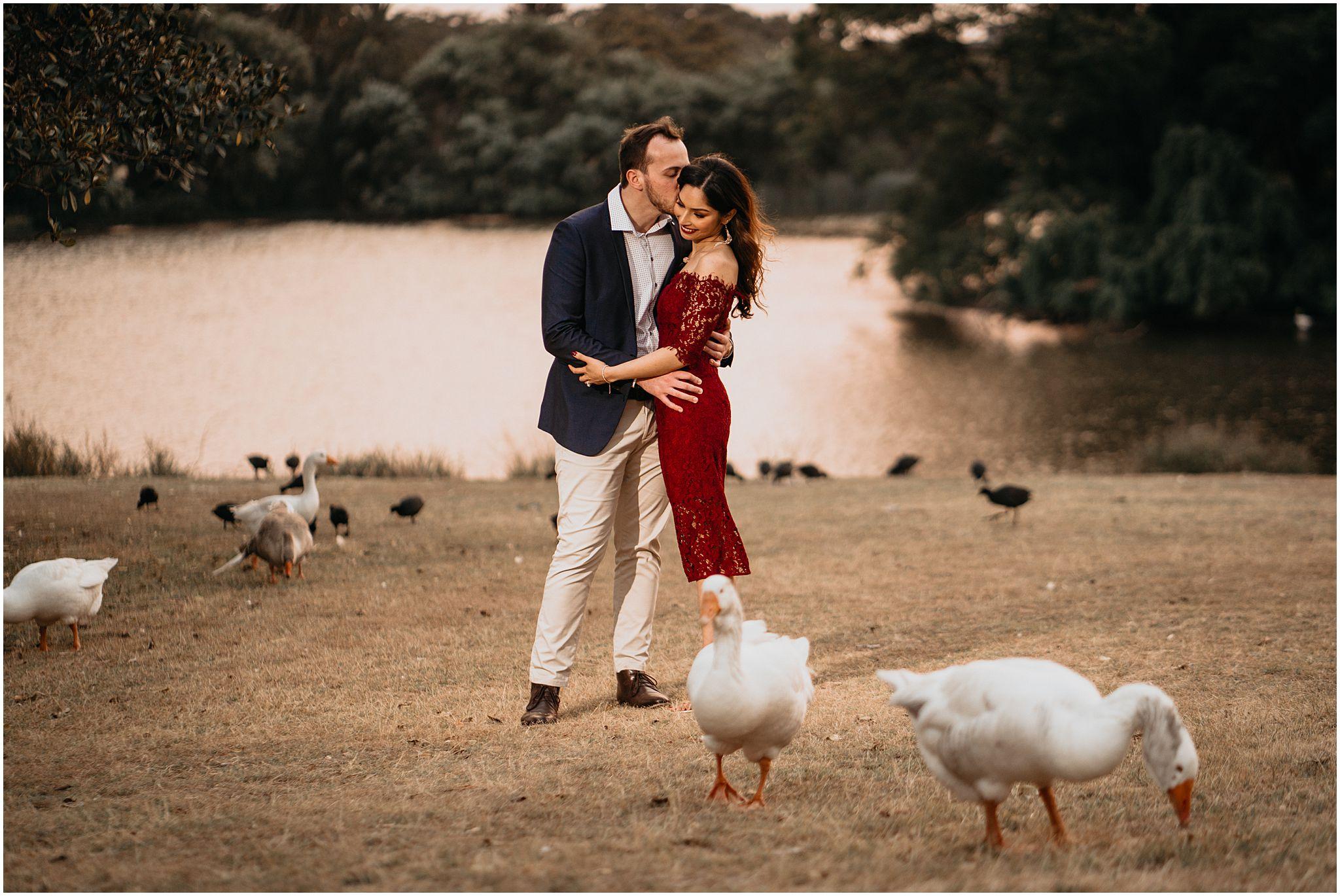 Pre wedding photos Centennial Park