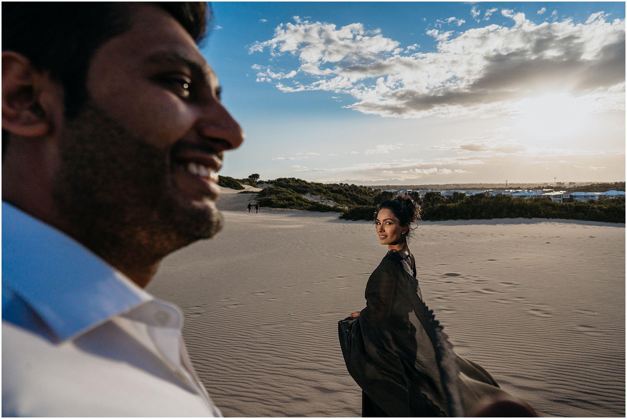 sand dunes photoshoot sydney