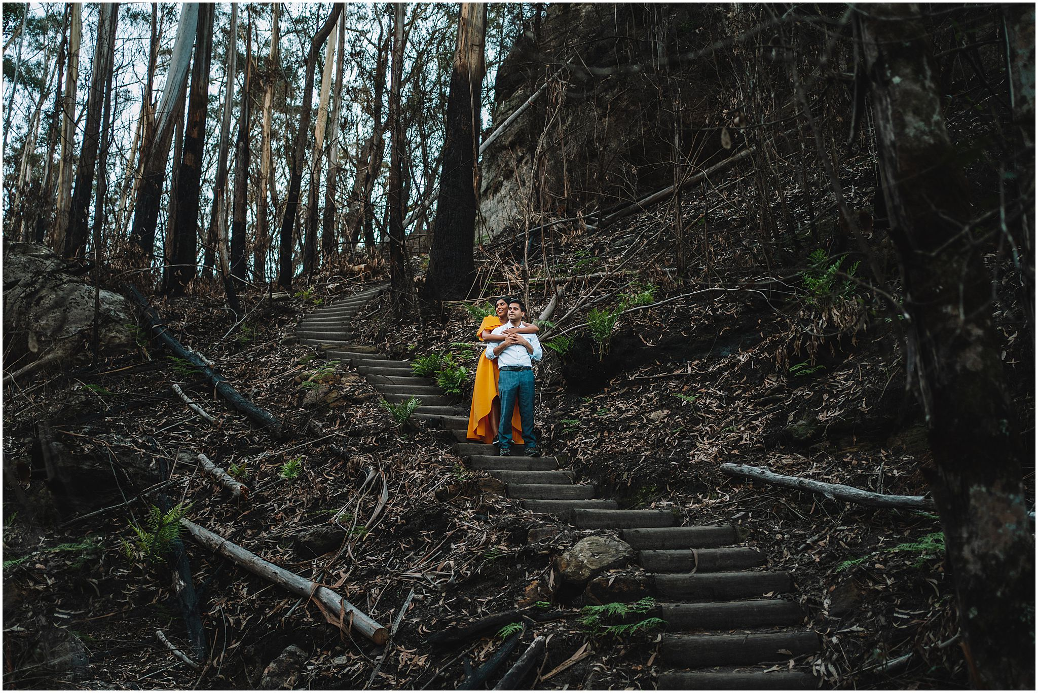 mount wilson engagement photos